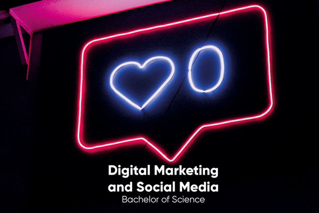 Bachelor of Science Digital Marketing and Social Media an der XU Exponential University.
